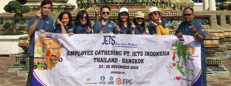 Employee Gathering Jets - Pasar Asuransi